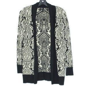 Maurices Cardigan Sweater Metallic Open Medium I1